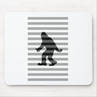 Squatch Stripes Mouse Pad