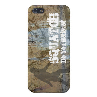 Squatch, usted cree iPhone 5 carcasas