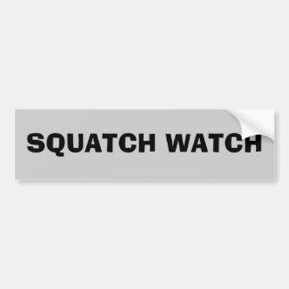 Squatch watch bumper sticker