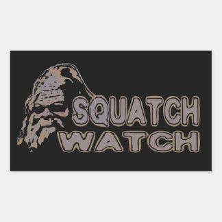 Squatch Watch - Cool Sasquatch Face Stickers