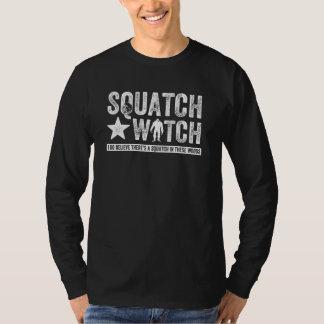 Squatch Watch (for dark) I do believe. Tshirts