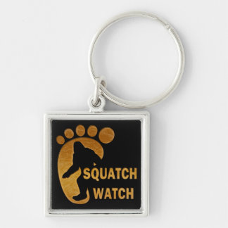 Squatch Watch Keychain