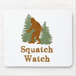 Squatch Watch Mouse Pad
