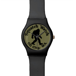 Squatch Watch Oil City, WA Black And Olive