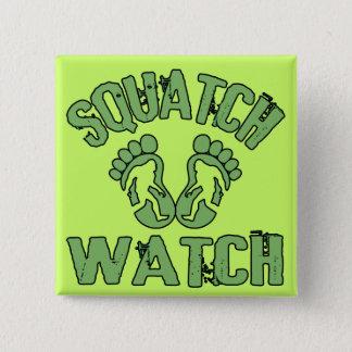 Squatch Watch Pinback Button