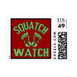 Squatch Watch Postage Stamps