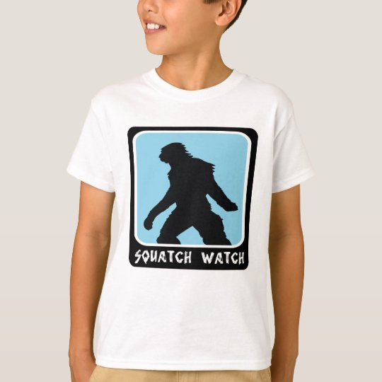 Squatch Watch - Sasquatch BigFoot Hunter T-Shirt