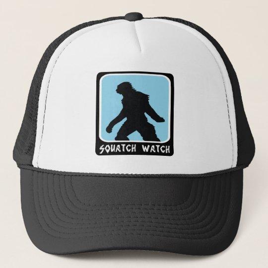 73ce5f63 Squatch Watch - Sasquatch BigFoot Hunter Trucker Hat | Zazzle.com