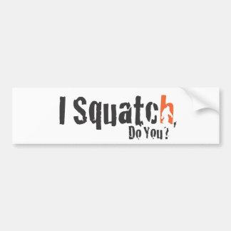 Squatch Wear and More Car Bumper Sticker