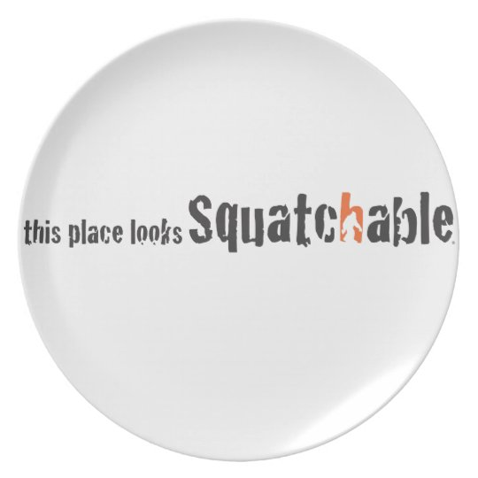 Squatch Wear and More Melamine Plate