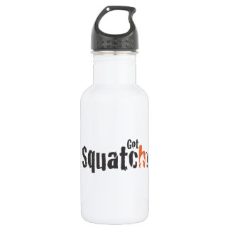 Squatch Wear and More Stainless Steel Water Bottle