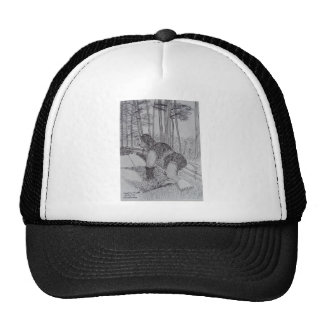 Squatchdog sketch.JPG Trucker Hat