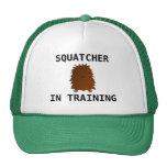 Squatcher en el bebé Bigfoot del entrenamiento Gorro De Camionero