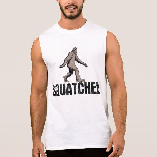 Squatcher Camisetas Sin Mangas
