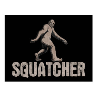 Squatcher Postcard