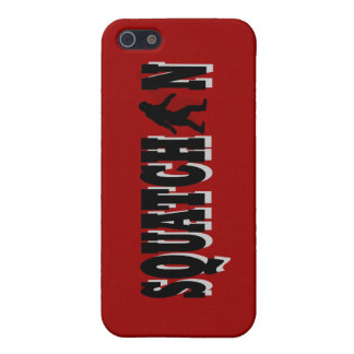 Squatchin, black text cover for iPhone SE/5/5s