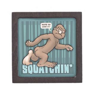 Squatchin Caja De Joyas De Calidad