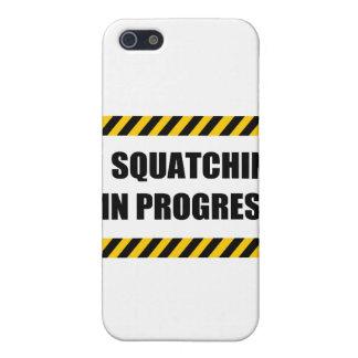 Squatchin en curso iPhone 5 cobertura