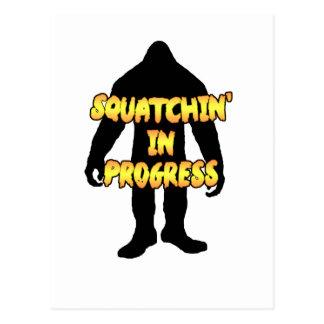 Squatchin en curso postal