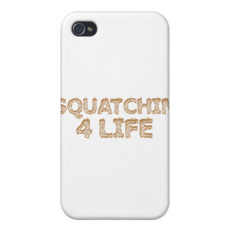 Squatchin For Life iPhone 4/4S Covers