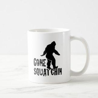 Squatchin ido 2 tazas de café