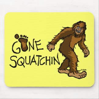 Squatchin ido alfombrilla de raton