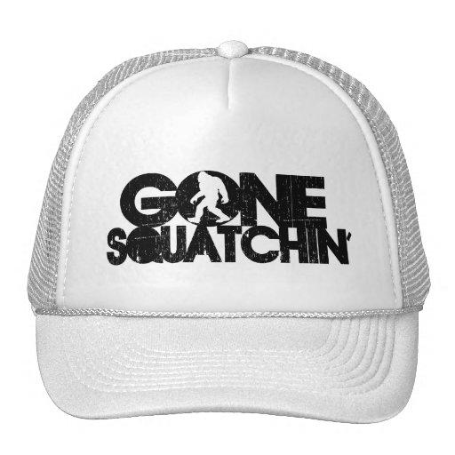 Squatchin ido apenado gorras de camionero