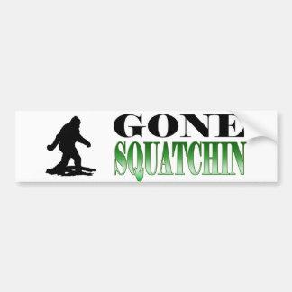 Squatchin ido *BEST*, encontrando Bigfoot, Pegatina Para Auto
