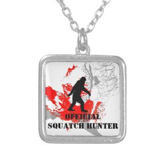 Squatchin ido, Bigfoot negro Colgante Cuadrado