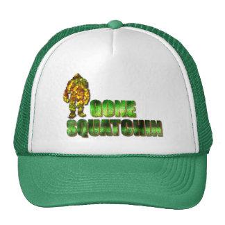 Squatchin ido: Bobo nunca encontrará Bigfoot Gorras