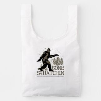 Squatchin ido bolsa reutilizable