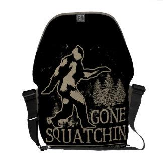 Squatchin ido bolsas de mensajeria