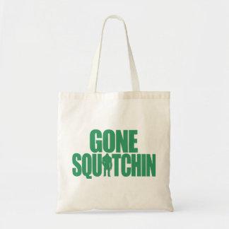 Squatchin ido bolsa lienzo