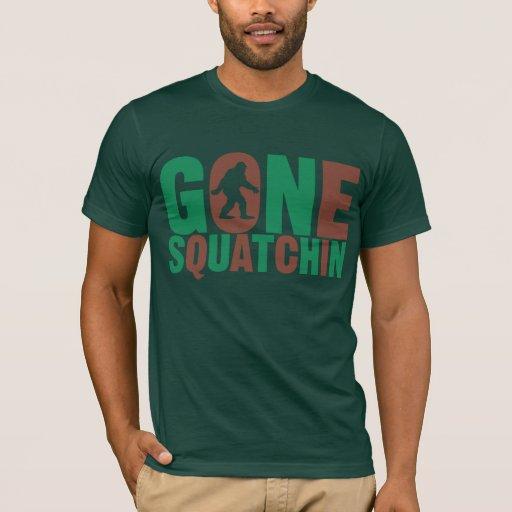 Squatchin ido Camo pone letras a la camisa
