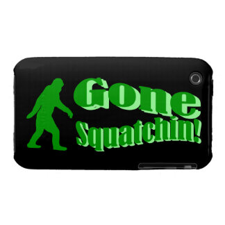 Squatchin ido Case-Mate iPhone 3 protectores