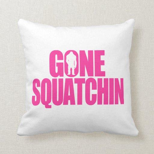 Squatchin ido cojín