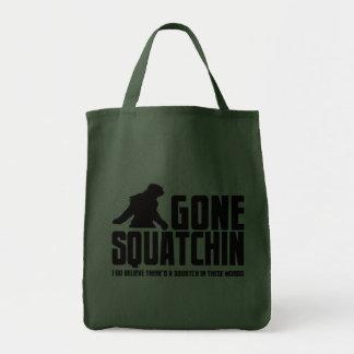 Squatchin ido - creyente divertido de Bigfoot Bolsas