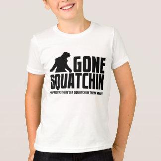 Squatchin ido - creyente divertido de Bigfoot Playera