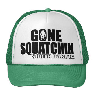 Squatchin ido DAKOTA DEL SUR - Bobo original Gorros Bordados