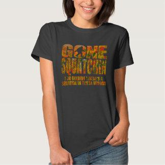 Squatchin ido ** edición de la caída ** camiseta playeras
