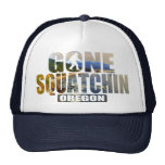Squatchin ido ** edición especial de Oregon ** Gorro De Camionero