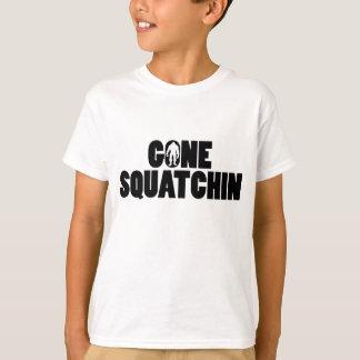 Squatchin ido embroma la camiseta camisas