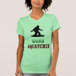 Squatchin ido, encontrando Bigfoot, camiseta