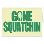 Squatchin ido felicitacion