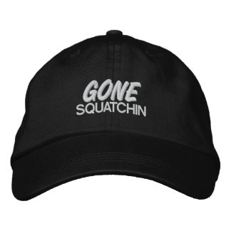 Squatchin ido gorra bordada