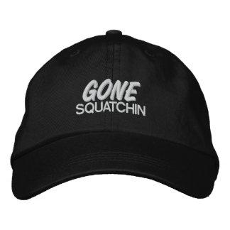 Squatchin ido gorras de beisbol bordadas