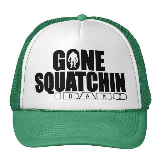 Squatchin ido IDAHO - Bobo original Gorros Bordados