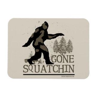 Squatchin ido imanes de vinilo