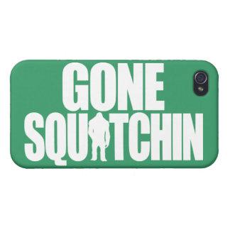 Squatchin ido iPhone 4/4S carcasas