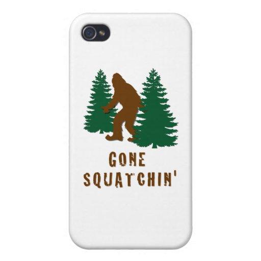 Squatchin ido iPhone 4/4S funda